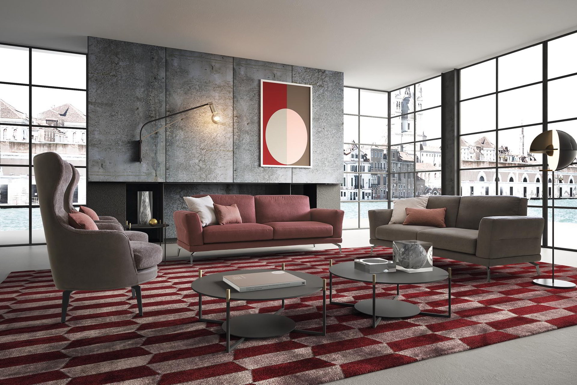 Divano Tessuto Antimacchia Opinioni divani ⋆ arredamenti riuniti, showroom e mobilificio a bergamo